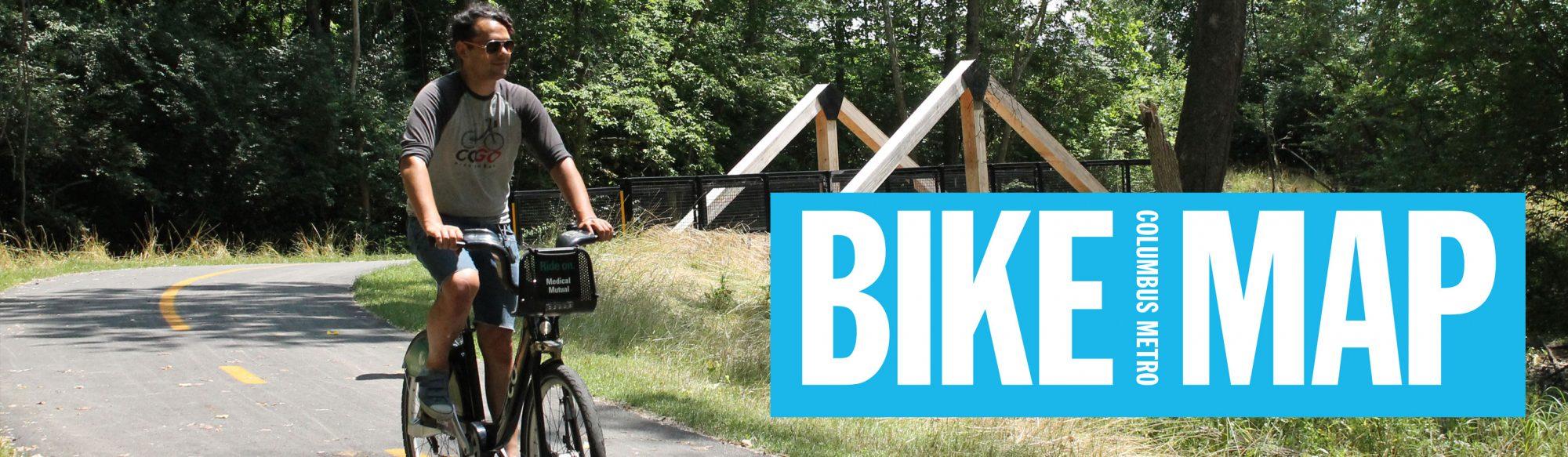 Columbus Metro Bike Map MORPC